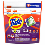 Procter & Gamble 50954 Laundry Detergent Pods, Spring Meadow Scent, 16-Ct.