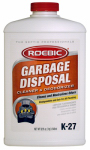 Roebic Laboratories K-27-Q-12 Garbage Disposal Cleaner, Qt.
