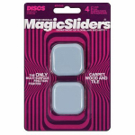 Magic Sliders L P 04045 Surface Protectors, Adhesive, 1-3/4-In. Square, 4-Pk.
