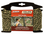 Wellington Cordage CMFPM1450 Camouflage Rope, Poly, 1/4-In. x 50-Ft.