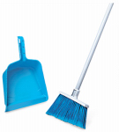 Quickie Mfg 750441 Broom & Dust Pan