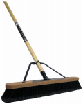 Quickie Mfg 00863HDSU Soft Sweep Pushbroom, 24-In.