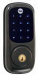 Yale Security YRD220-NR-ORB Electronic Deadbolt Lock, Touch Screen Keypad, Oil Rubbed Bronze