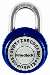 Wordlock PL-095-A1 Wordlock Text Dial Padlock