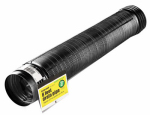 Amerimax Home Products 54002 Flex Drain, Expandable, Perforated Black Polyethylene, 4-In. x 8-Ft.