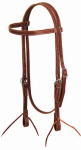 Weaver Leather 10-0335 Horse Headstall, Brown Latigo Leather, 5/8-In.