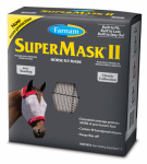 Central Garden & Pet 100502911 SuperMask II Horse Fly Mask, No Ear, Yearling