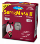 Central Garden & Pet 100504650 SuperMask II Horse Fly Mask, No Ear
