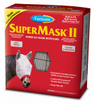 Central Garden & Pet 100504652 SuperMask II Horse Fly Mask, With Ears