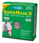 Central Garden & Pet 100504653 SuperMask II Horse Fly Mask, With Ears, XL