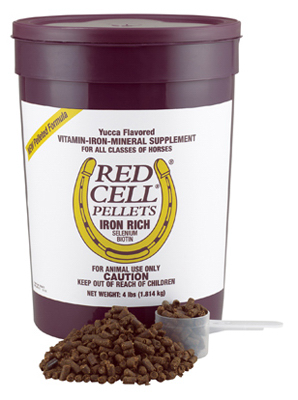 Central  Garden & Pet 100506701 Red Cell Horse Vitamin & Mineral Pellets, 4-Lbs.  save on clearance