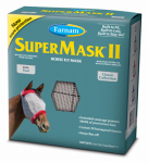 Central Garden & Pet 100502912 SuperMask  II Horse Fly Mask