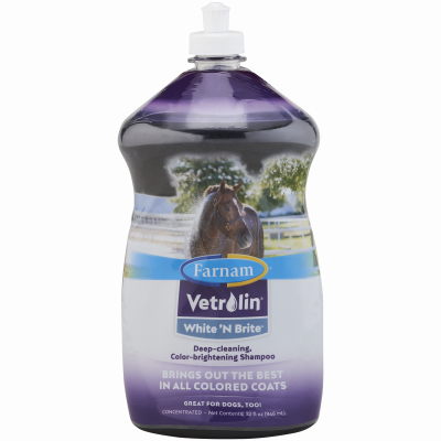 Central Garden &  Pet 46106 Vetrolin White 'N Brite Shampoo, 32-oz.  leisure