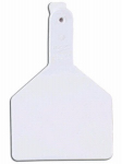 Datamars 9053603 Cow Tag, White, 3 x 4.5-In., 25-Pk.