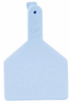 Datamars 9053605 Cow Tag, Blue, 3 x 4.5-In., 25-Pk.