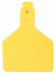 Datamars 9053610 Calf Tag, Yellow, 2-3/8 x 3-1/4-In., 25-Pk.