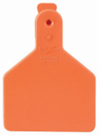 Datamars 9053611 Calf Tag, Orange, 2-3/8 x 3-1/4-In., 25-Pk.