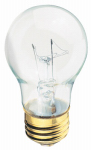 Globe Electric 70201 Appliance Light Bulb, Clear Incandescent, 40-Watt, 2-Pk.