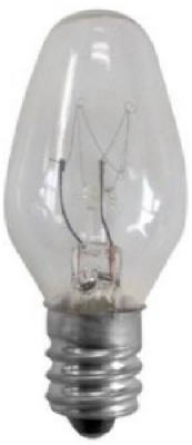WP 70207 Incandescent Night Light Bulb, Clear, 4-Watts, 4-Pk