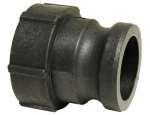 Apache Hose & Belting 49010430 Polypropylene Cam & Groove Coupling, Part A, 2-In.
