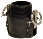 Apache Hose & Belting 49030520 Cam & Groove Coupling, Polypropylene, Part B, 2-In.
