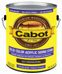Cabot/Valspar 0837-07 Solid Color Acrylic Siding Stain Cordovan Brown - Gallon