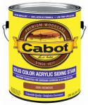 Cabot/Valspar 0880-07 Solid Color Acrylic Siding Stain Redwood - Gallon