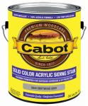 Cabot/Valspar 0844-07 Solid Color Acrylic Siding Stain Driftwood Gray - Gallon