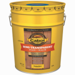 Cabot/Valspar 16306-05 Semi-Transparent Deck & Siding Stain, Neutral Base, 1-Qt.