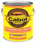 Cabot/Valspar 16316-07 Semi-Transparent Deck & Siding Stain (VOC) New Cedar - Gallon