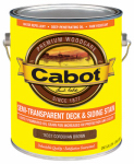 Cabot/Valspar 16337-07 Semi-Transparent Deck & Siding Stain (VOC) Cordovan Brown - Gallon.