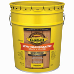 Cabot/Valspar 16306-08 Semi-Transparent Deck & Siding Stain (VOC) Neutral Base - 5 Gallon