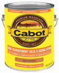 Cabot/Valspar 16380-07 Semi-Transparent Deck & Siding Stain (VOC) Redwood - Gallon