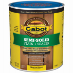Cabot/Valspar 17406-05 Semi-Solid Deck & Siding Stain, Neutral Base, 1-Qt.