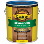 Cabot/Valspar 17406-07 Semi-Solid Deck & Siding Stain (VOC) Neutral Base - Gallon