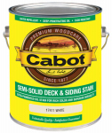 Cabot/Valspar 17411-07 Semi-Solid Deck & Siding Stain (VOC) White - Gallon
