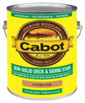 Cabot/Valspar 17416-07 Semi-Solid Deck & Siding Stain (VOC) New Cedar - Gallon