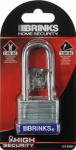 Hampton Prod Intl 172-42001 1-1/2 Inch Long Shackle Laminated Steel Pin Tumbler Padlock