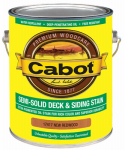 Cabot/Valspar 17417-07 Semi-Solid Deck & Siding stain (VOC) New Redwood - Gallon