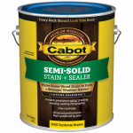 Cabot/Valspar 17437-07 Semi-Solid Deck & Siding stain (VOC) Cordovan Brown - Gallon