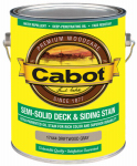 Cabot/Valspar 17444-07 Semi-Solid Deck & Siding Stain, Driftwood Gray, 1-Gal.