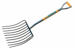Seymour Mfg 49285 Ensilage Fork, Steel D-Grip, 30-In.Wood Handle