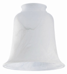 Westinghouse Lighting 8109800 Milky White Glass Ceiling Fan Light Shades, Must Purchase in Quantities of 6