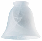 Westinghouse Lighting 8127200 Milky White Glass Ceiling Fan Light Shades, Must Purchase in Quantities of 6