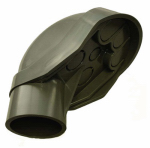 Thomas & Betts E998J-CAR PVC Service Entrance Cap, Non-Metallic, 2-In.