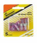 Cooper Bussmann BP/ATC-3-RP 3A Blade Fuses, Violet, 5-Pc.