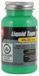 Gardner Bender LTG-400 Liquid Electrical Tape, Waterproof, Green, 4-oz.