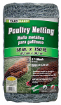 Midwest Air Tech/Import 308419B Galvanized Poultry Netting, 18-In. x 150-Ft.
