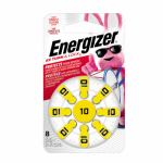 Eveready Battery AZ10DP-8 Hearing Aid Batteries 1.4-Volt Zinc Air, 8-Pack, AZ10DP-8
