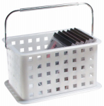 Interdesign 46200 Storage Basket Caddy for Shower or Household, 6-1/2 x 9 x 5-In.